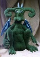Garth Gargoyle Doll Making Pattern by Julie McCulluogh