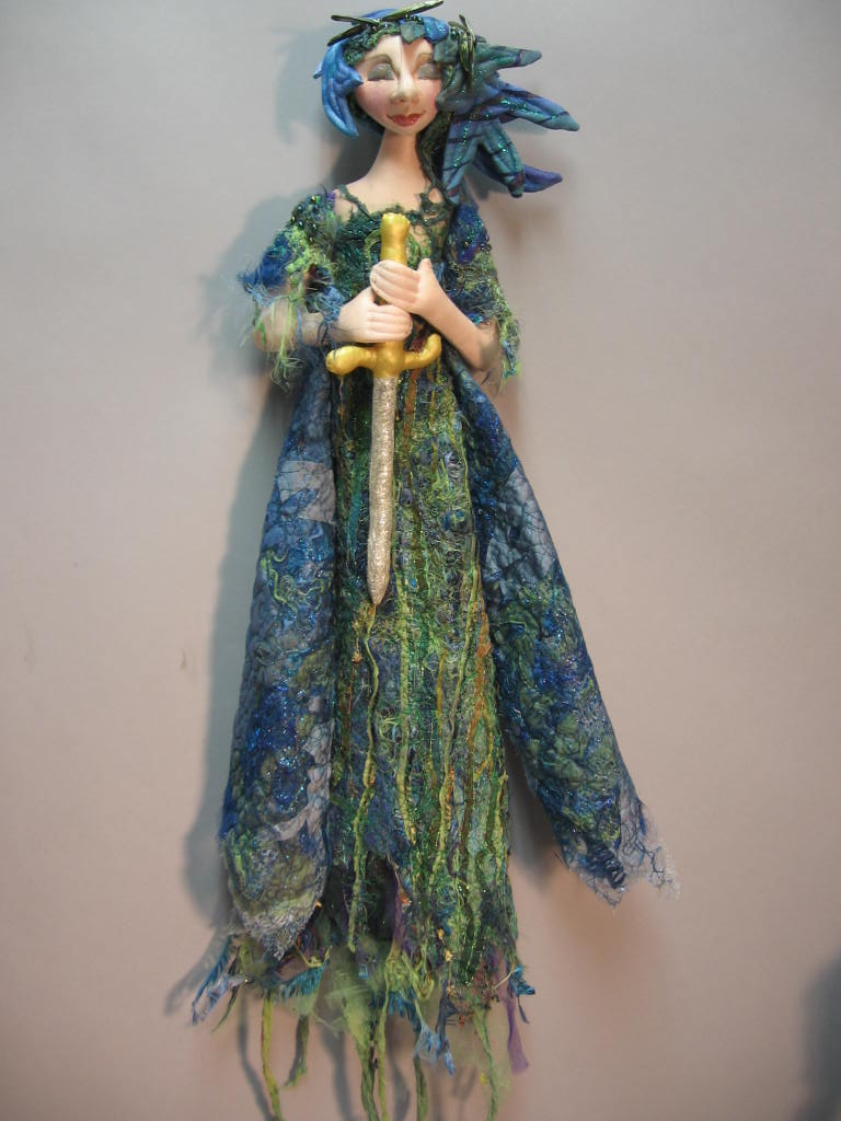 "24"" Lady in the Lake   by Julie McCullough - Magic Threads"