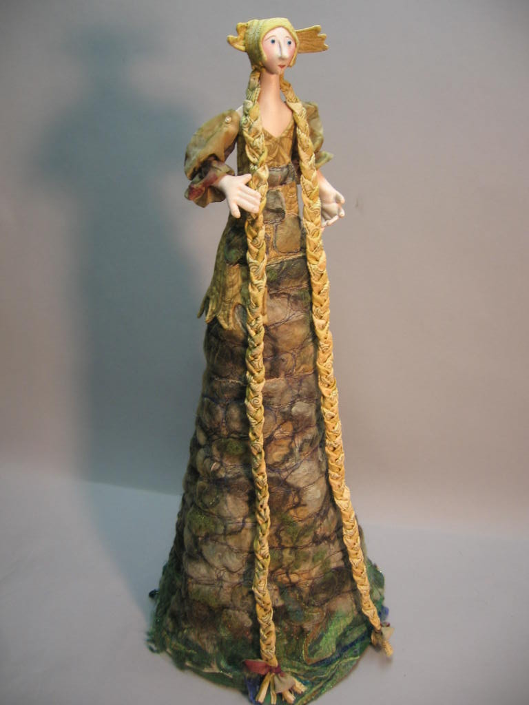 "30"" Rapunzel from Into the Woods  by Julie McCullough - Magic Threads"