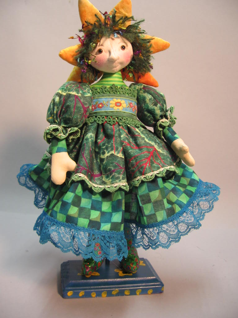 "12""Munchkin from Wicked  by Julie McCullough - Magic Threads"