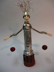 Found Art by Julie McCullough Tin Man